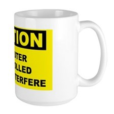 Caution-COMPUTER-CONTROLLED Mug