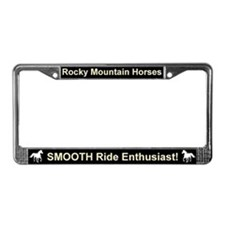Funny Rocky mountain horse License Plate Frame