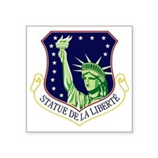 "48th FW - Statue De La Libe Square Sticker 3"" x 3"""