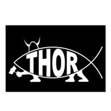 Thor Fish Postcards (Package of 8)