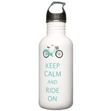 Keep Calm  Ride On wit Water Bottle