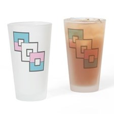 Transgender Pride Drinking Glass