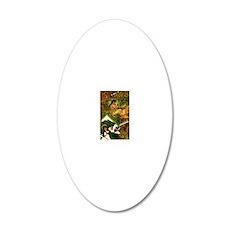 VINTAGE-IRISH-B-KINDLE-SLEEV 20x12 Oval Wall Decal