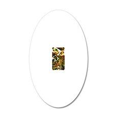 VINTAGE-IRISH-IPHONE-3G- 20x12 Oval Wall Decal