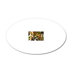 VINTAGE-IRISH-MINI-WALLET 20x12 Oval Wall Decal