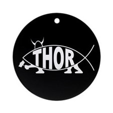 Thor Fish Ornament (Round)