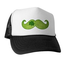 Shamrock Stache Trucker Hat