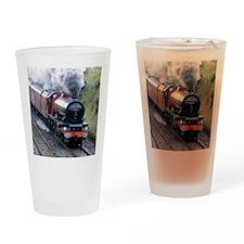 Passenger train , Culgaith , Englan Drinking Glass