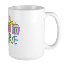Nicu Nurse BABY BLOCKS Mug