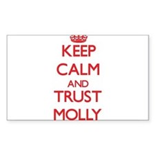 Keep Calm and TRUST Molly Decal
