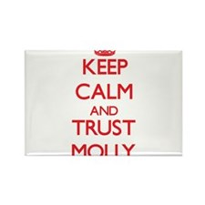 Keep Calm and TRUST Molly Magnets