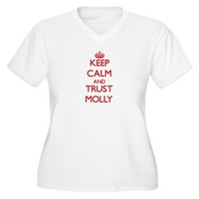 Keep Calm and TRUST Molly Plus Size T-Shirt