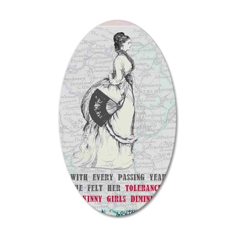 With-every-passing-year-she 35x21 Oval Wall Decal
