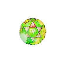 heart chakra shirt Mini Button