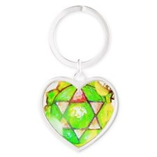 heart chakra shirt Heart Keychain