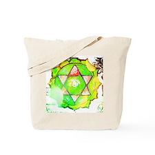 heart chakra shirt Tote Bag