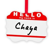 Chaya Picture Ornament