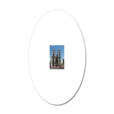 Westminster mag 20x12 Oval Wall Decal