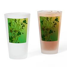IRISH-SHAMROCK-FILLIGREE-shower_cur Drinking Glass