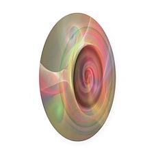 ArtWhitakerPastelsplus 12 18 300 Oval Car Magnet