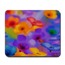 Art Whitaker Flowers 35 23 300 Mousepad
