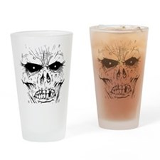 zombieface Drinking Glass