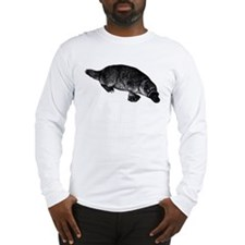 Platypus (Front) Long Sleeve T-Shirt