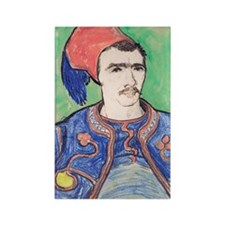 443 VG Zouave Rectangle Magnet