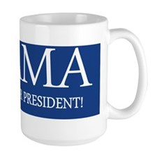 I support our president bumper sticker Mug