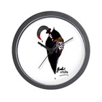 Scythe you Open Wall Clock