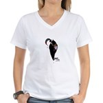 Scythe you Open Women's V-Neck T-Shirt