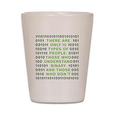 binary-01b-green-cp Shot Glass