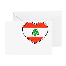 Beirut Greeting Card
