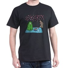 Plant Monster Enjoys Spring Picnic T-Shirt