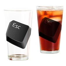 push-to-esc Drinking Glass