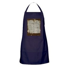 10 Commandments Journal Apron (dark)