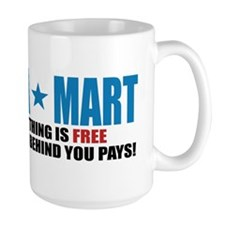 obama mart bumpersticker Mug