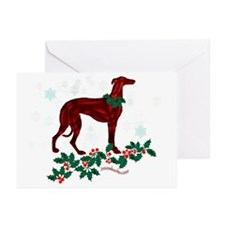 Sighthound Snowflakes Cards