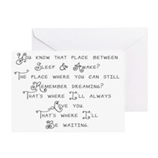 Tinker bells Confession Greeting Card