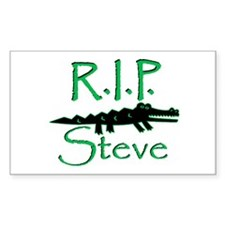 R.I.P. Steve Rectangle Decal