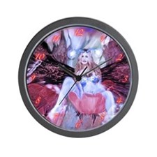Maiden of the Fairies Wall Clock