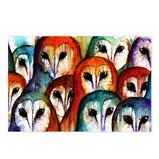Owl Audience Postcards (Package of 8)