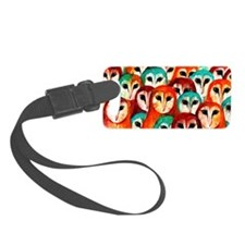 Parliament of Owls Luggage Tag