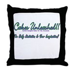 Cakes Unleashed!! Throw Pillow