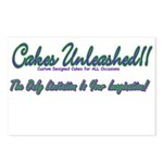 Cakes Unleashed!! Postcards (Package of 8)