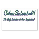 Cakes Unleashed!! Rectangle Sticker