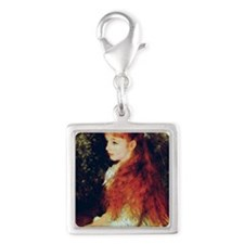 Irene by Renoir Silver Square Charm