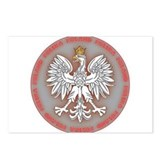 PolishWhite Eagle C Postcards (Package of 8)
