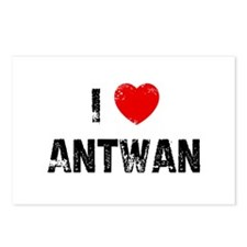 I * Antwan Postcards (Package of 8)