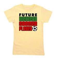 Future Mexican Soccer Player Girl's Tee